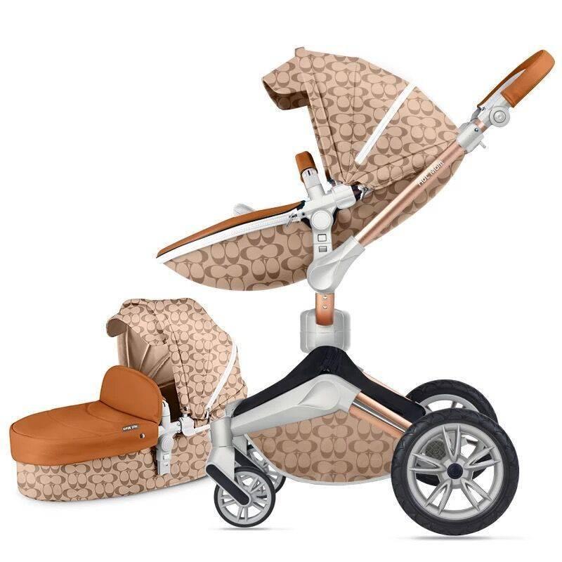 Обзор коляски из экокожи Нot mom 2 в 1, 3 в 1